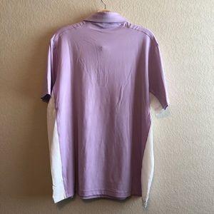 Shirts - NWT • Men's Short Par 4 Lilac Golf Shirt • Large